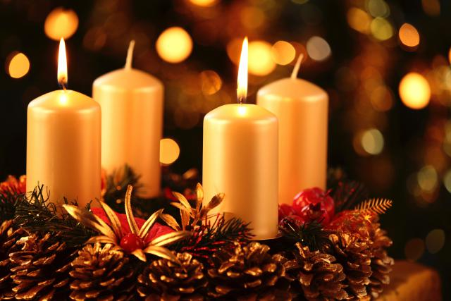 Advent wreath series